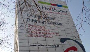 Die Evangelische Gesamtschule Kleinmachnow.