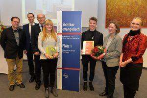 Prämierung Sichtbar evangelisch 2016.