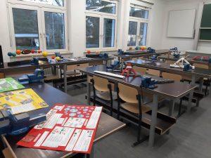 Lernstationen der Evangelischen Oberschule Belgern-Schildau.