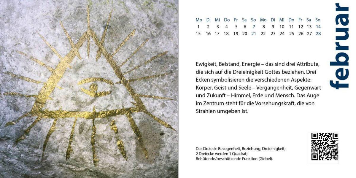 Kalenderbild Februar