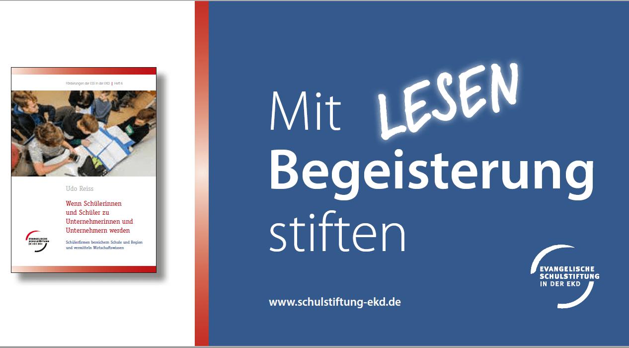 Beitragsbild Flyer Publikation Schuelerfirmen