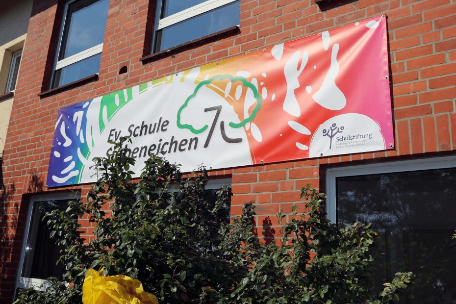Die Evangelische Grundschule Siebeneichen wurde 2020 mithilfe einer Förderung der ESS EKD neu gegründet.