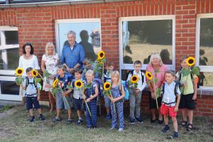 Im Gründungsschuljahr wurden in der Evangelischen Grundschule Siebeneichen 10 Schüler*innen eingeschult.